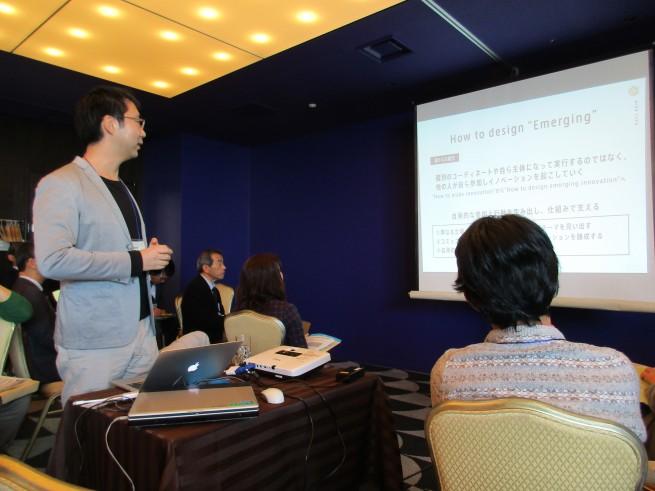NPO法人ミラツク 代表西村勇也さんからの話題提供
