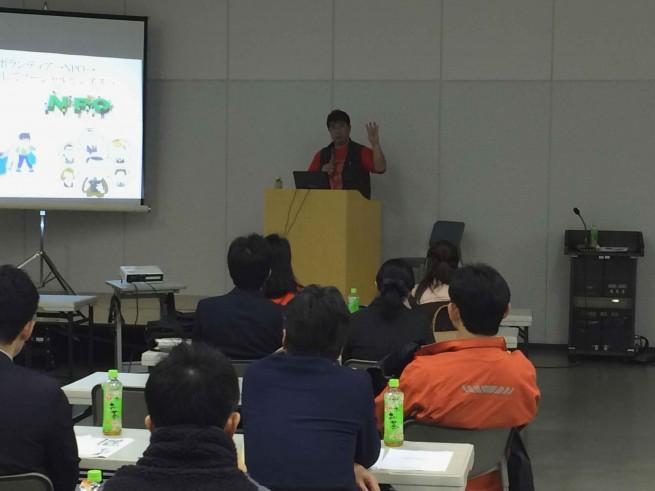 宮崎文化本舗の石田さんによる講演