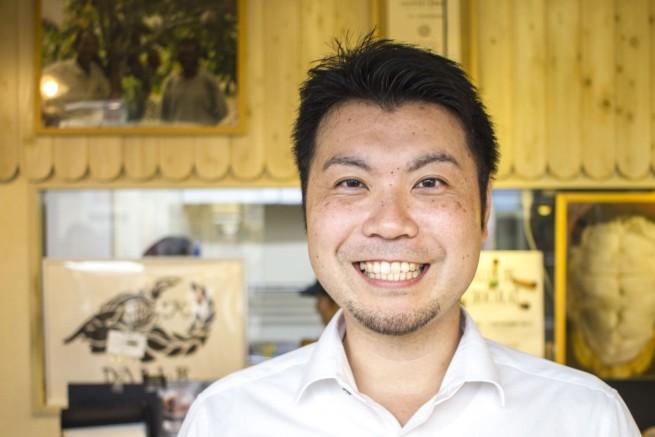 こちらがインタビューに応じてくれた、「Dari K」代表取締役の吉野慶一さん
