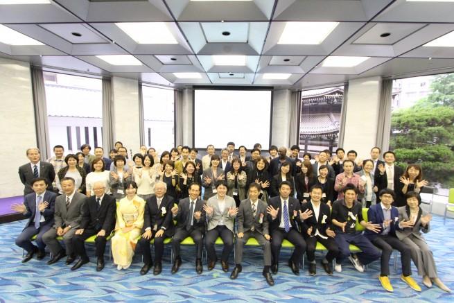参加者の皆様を含めた集合写真