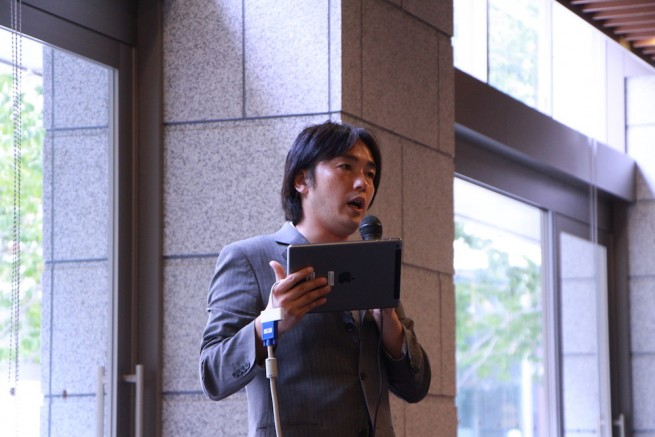 こちらが円城寺雄介さん。『県庁そろそろクビですか?』という書籍の著者でもあります。