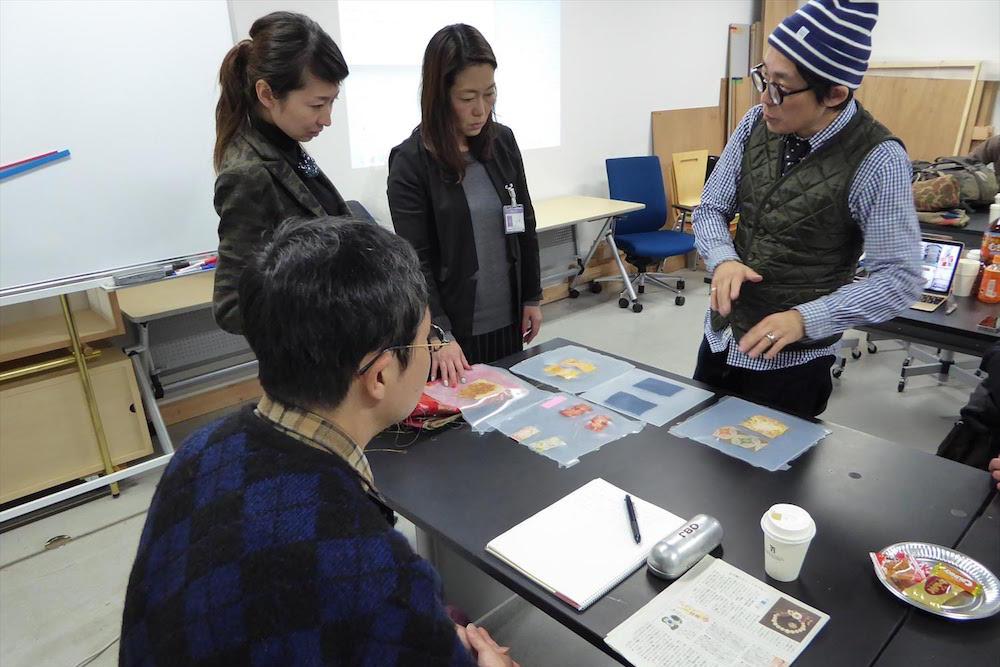 大学などで講師としても活躍する金谷さん。「京都リサーチパーク」では後継者育成のためのゼミを担当している。