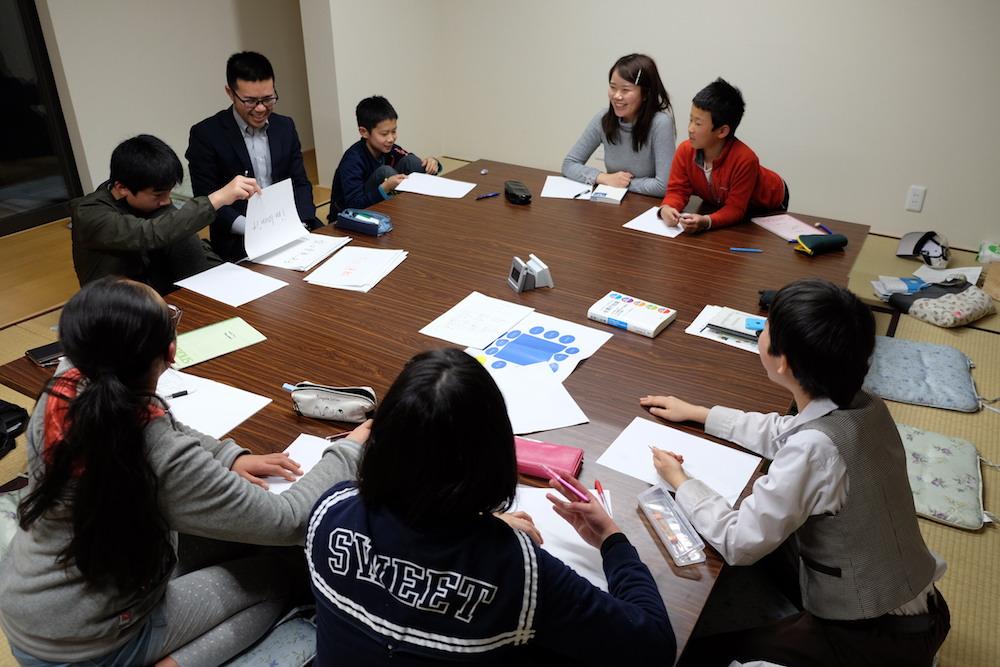 円通寺・春日会館「学び合いコース」グループワークのようす