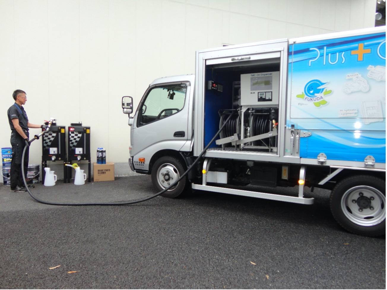 液体輸送の課題解決に取り組み、あらゆる液体のラストワンマイルを届ける「FUKUDA」
